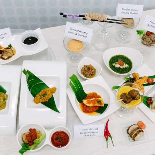 Partnering National Health Innovation Centre in bringing first ready-to-eat texture modified Asian Meals for those with swallowing difficulties to market